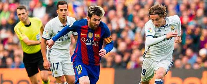 02/03/2019 Real Madrid vs FC BarcelonaSpanish League